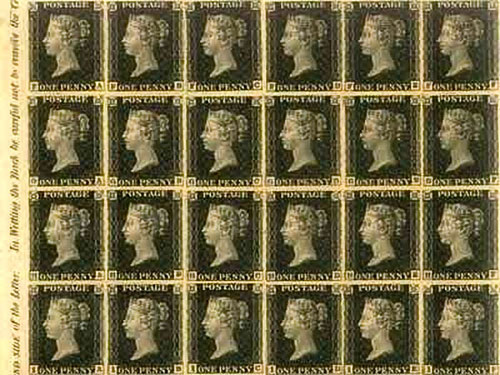 Penny Black, histoire d'un timbre star
