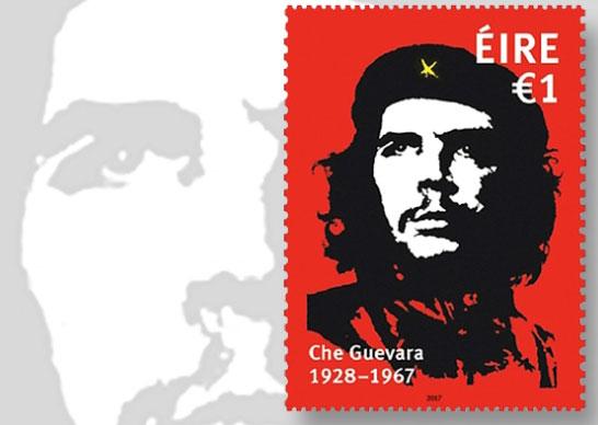 Timbre poste pour le 50ème anniversaire de la mort du Che